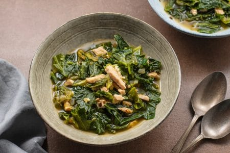 Want a Healthier Way to Enjoy Your Favorite Southern Side Dish! You'll Love Our Healthy Southern Greens!