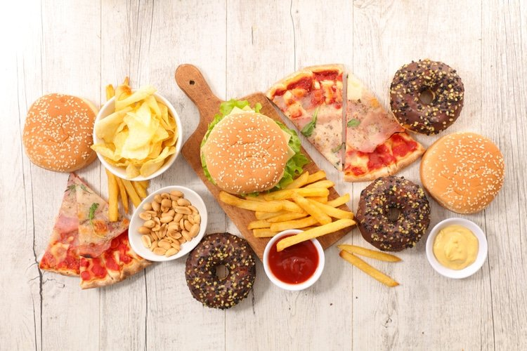 Limit intake of highly processed food and fast food.