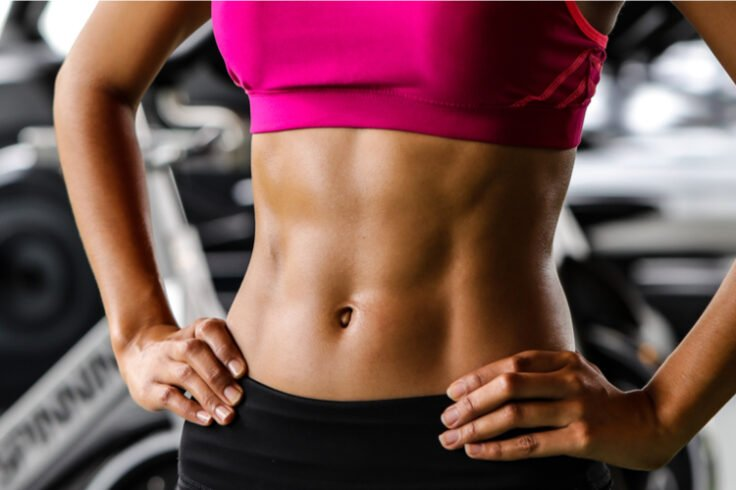 easiest way to tighten your abs