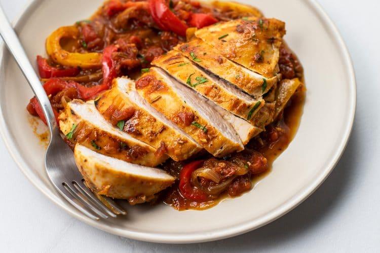 One-Pan One-Pan Rustic-Style Italian Chicken