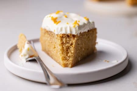 Gluten-Free Orange Creamsicle Cake