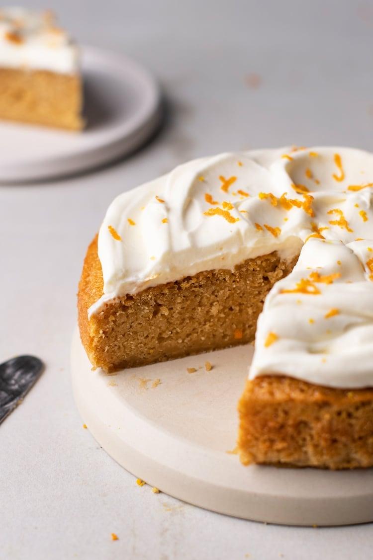 Gluten-Free Orange Creamsicle Cake