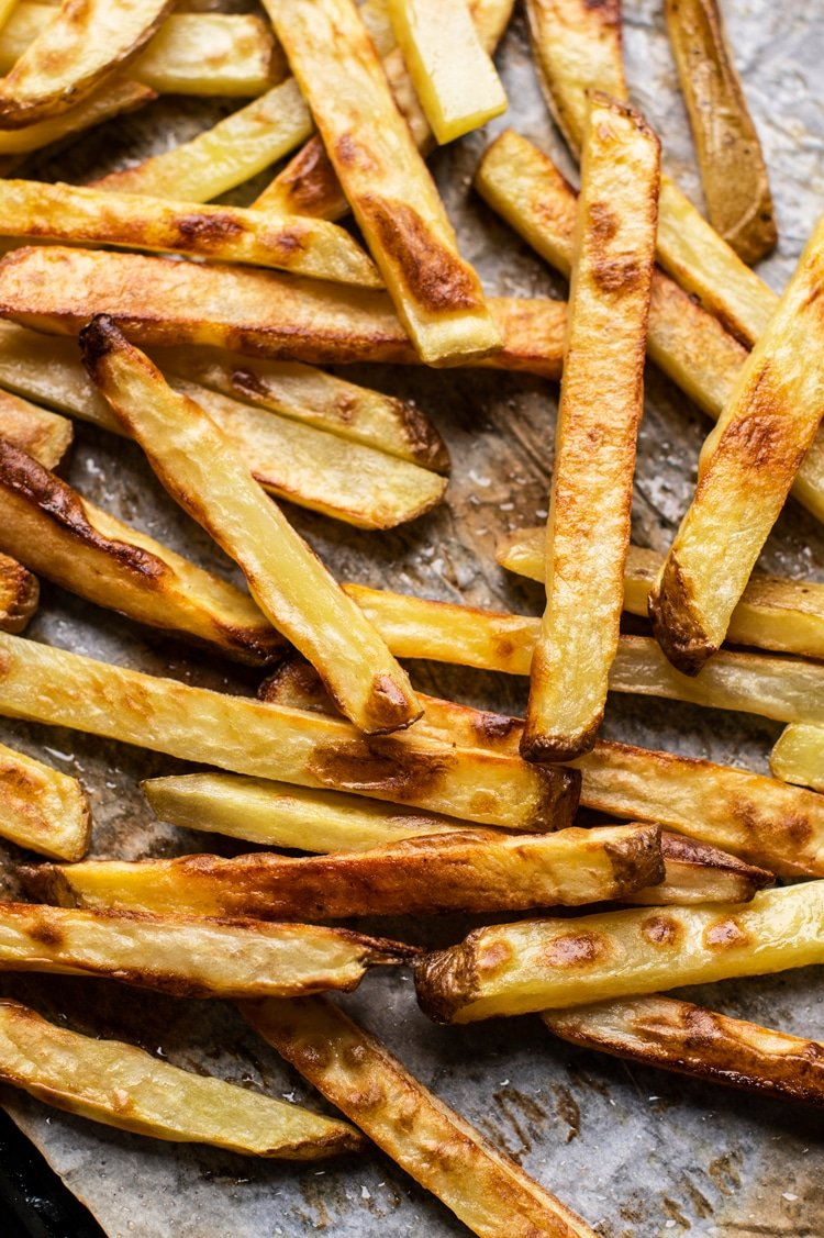 No more greasy French fries! Get out the skillet and make healthy and crunchy fries.
