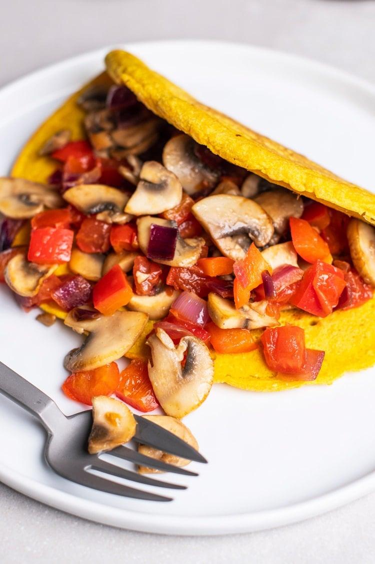 """Protein Packed Vegan """"Omelette"""""""