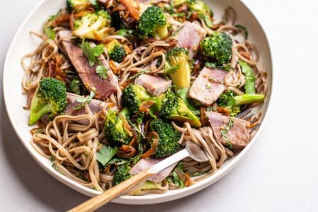 Thai Tuna and Broccoli Salad