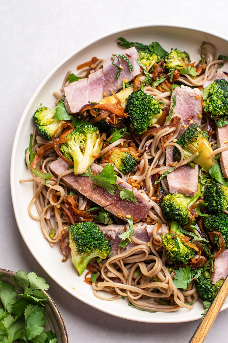 Thai Tuna and Broccoli Salad
