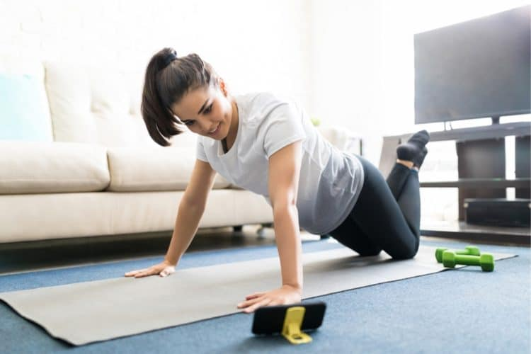 Start working out to reduce your stress levels.