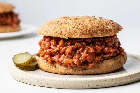 One-Pot Skinny Sloppy Joes