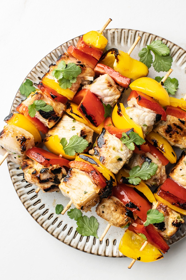Perfect Summer Meal Grilled Pork Kebabs