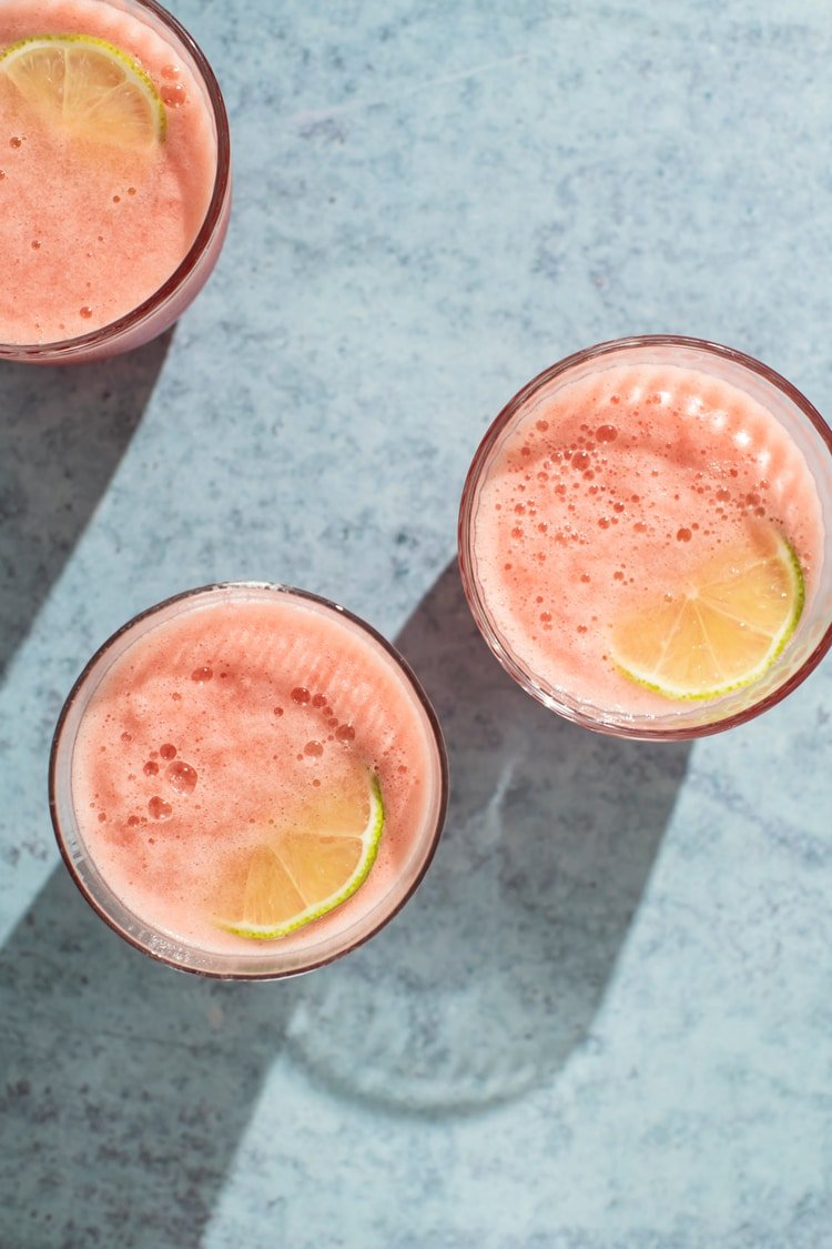 This is the Easiest (Ever!) Watermelon Spritzer You Will Ever Make