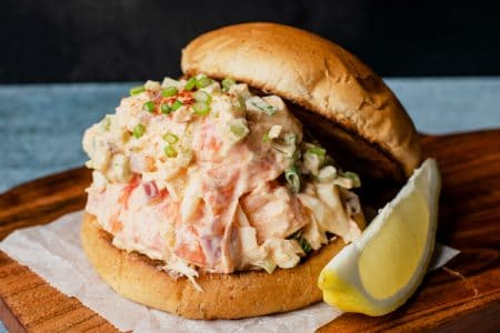 Skinny East Coast Lobster Roll