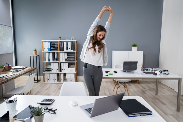 7 Essential Tips For Staying Productive And Healthy While Working From Home Stand up