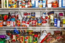 Keep a well stocked pantry!