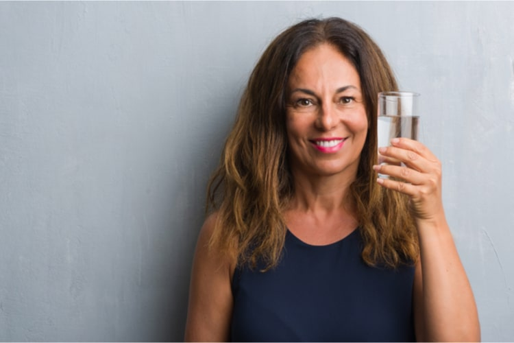 As you get older, your thirst mechanism may begin to malfunction so drink enough water to keep yourself hydrated after 40!