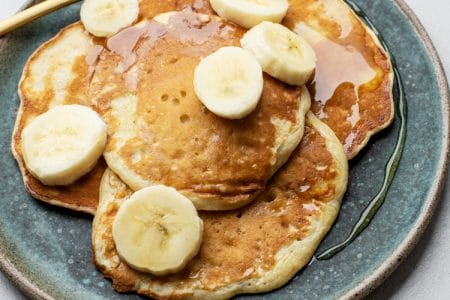 Super Easy Three-Ingredient Pancakes