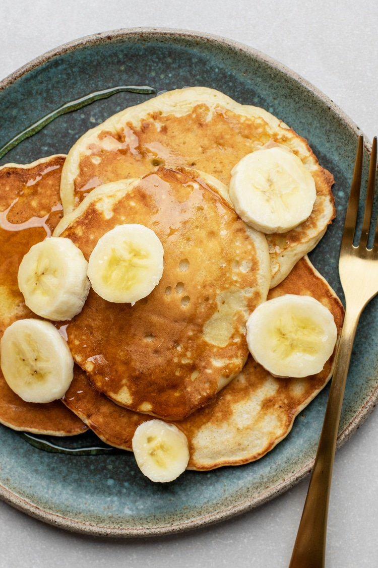 Our Super Easy Two-Ingredient Pancakes are Chock-Full of Flavor and Nutrients