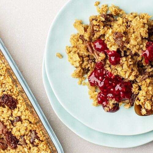 Whip Up This Scrumptious Baked Oatmeal with Ingredients You Probably Already have On-Hand!