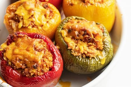 Effortless 5-Ingredient Stuffed Peppers