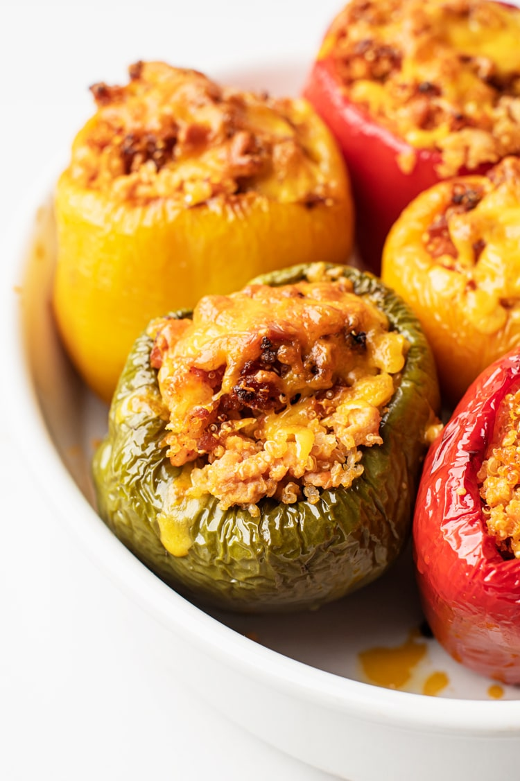 In a dinner rut? Try these amazing stuffed peppers!