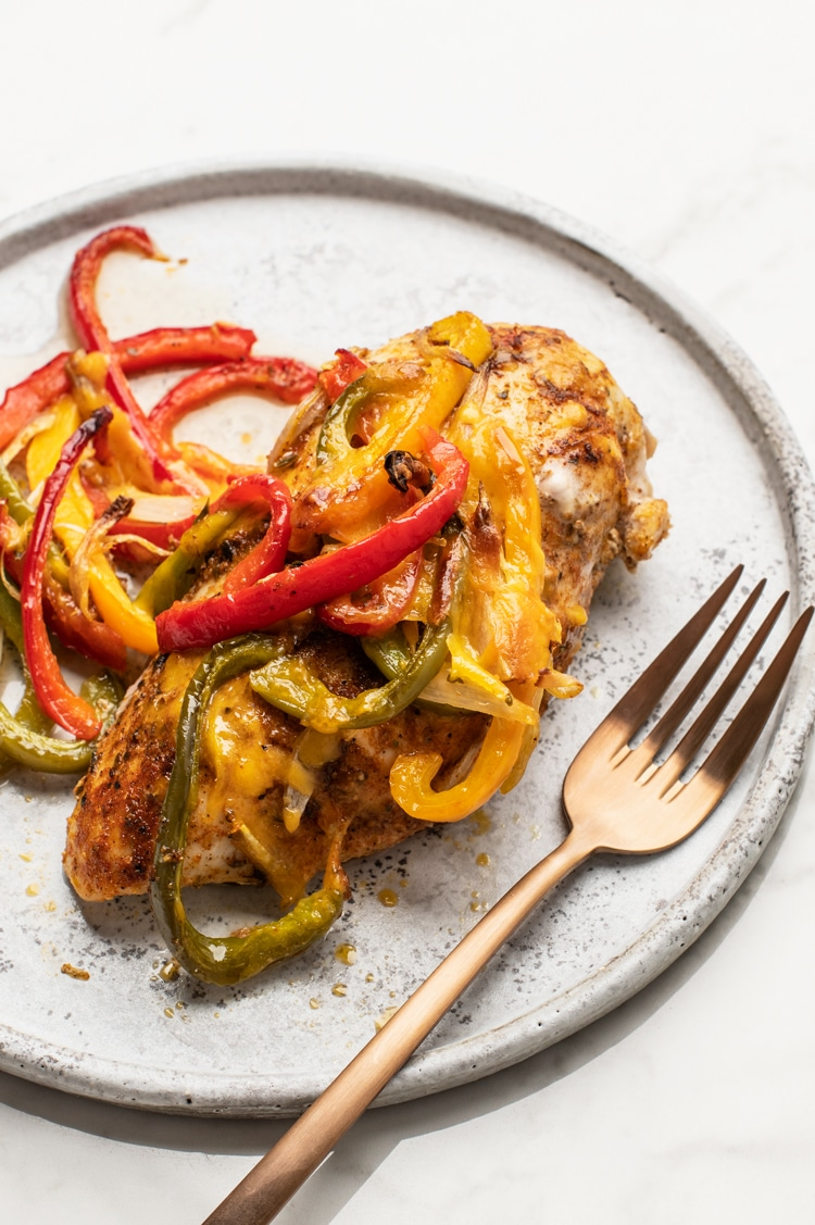 This Incredibly Simple and Delicious Fajita Chicken Bake Requires Just a Few Staple Ingredients