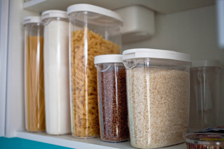 Keep a well-stocked pantry.
