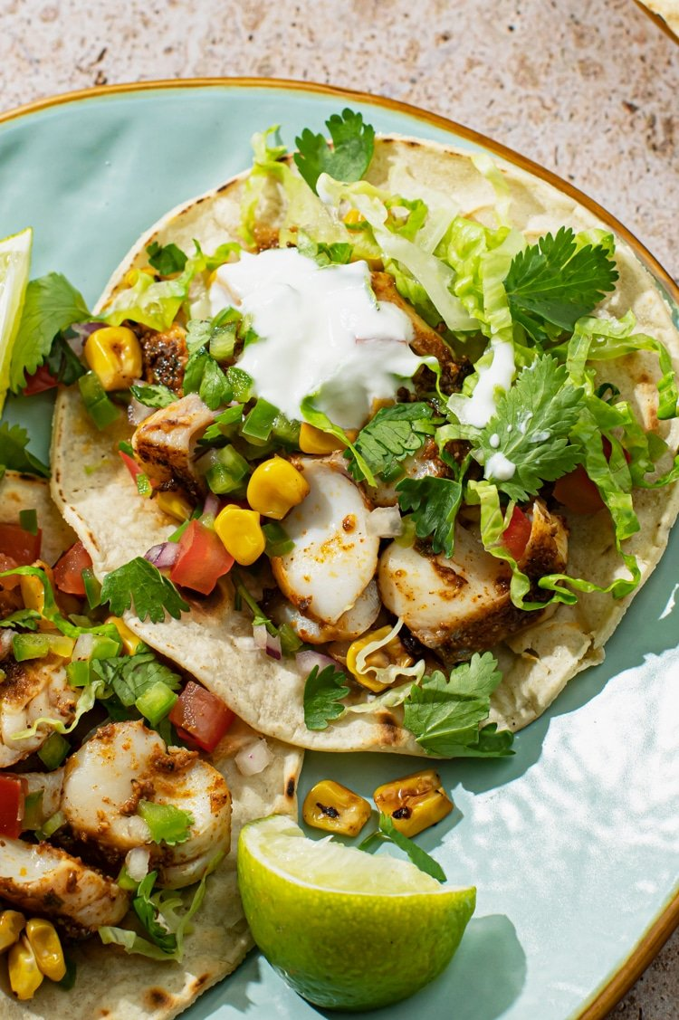 Celebrate taco night the healthy way, by cooking up this simple and delicious stove top recipe of fish Taos