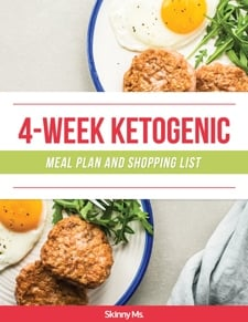 4-Week Ketogenic Meal Plan and Shopping List