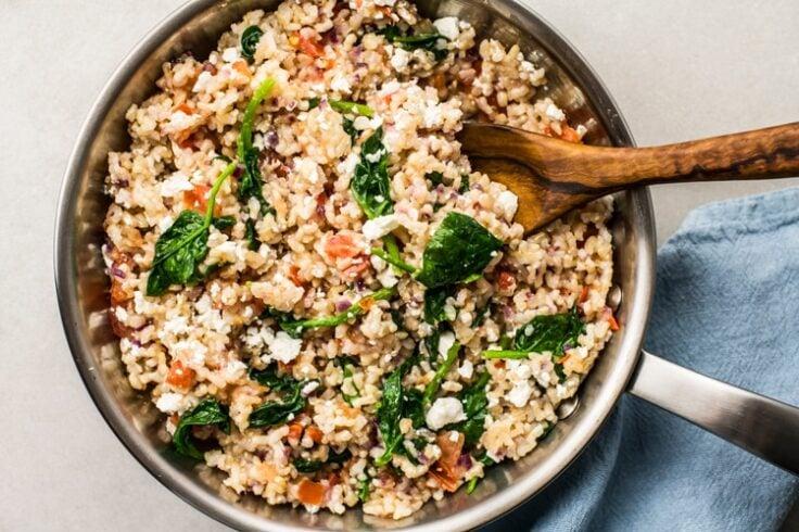mediterranean style fried rice