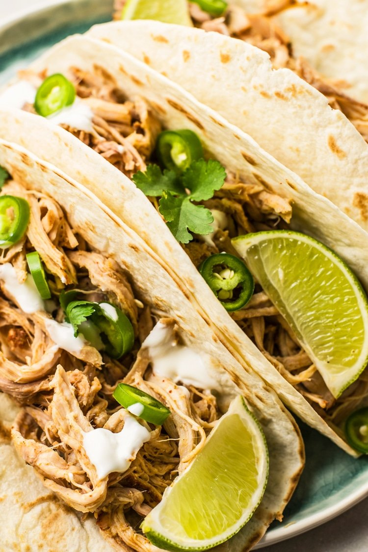 These Slow Cooker Pork Carnitas will melt-in-your-mouth!