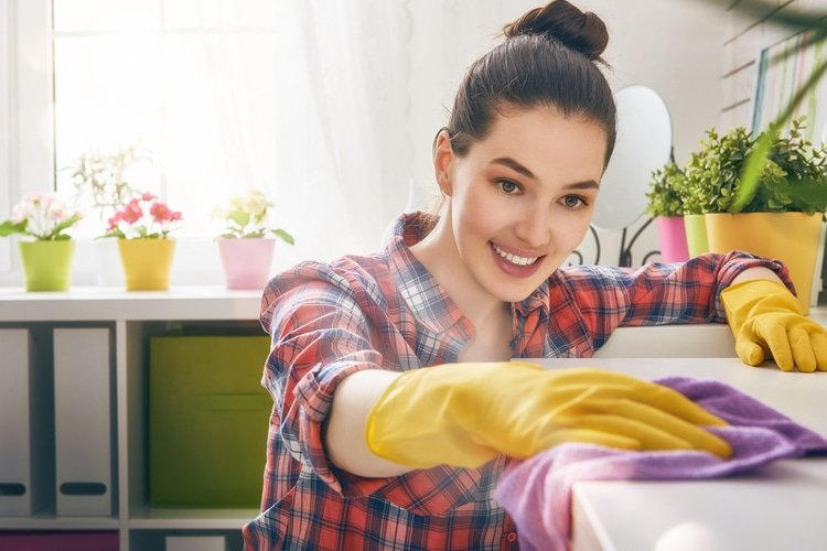 Cleaning is a great stress relieving activity that will leave you with a pleasant, tranquil and stress free environment.