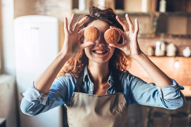 The controlled aspects of baking make it a perfect outlet for stress and overwhelm.