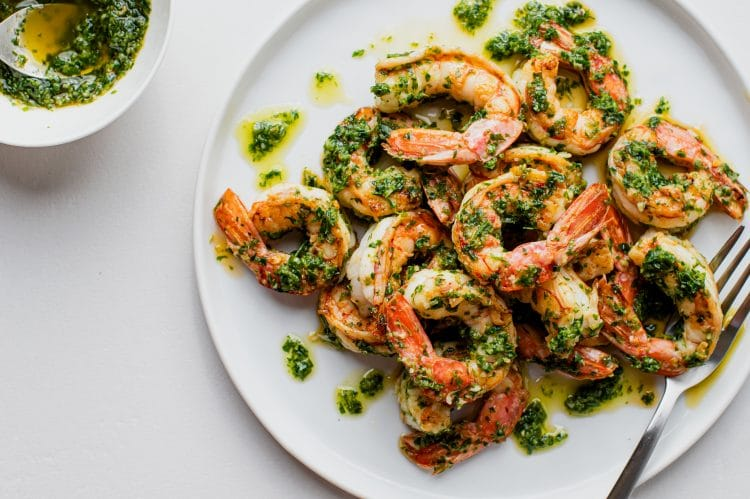 Fast and Flavorful Chimichurri Shrimp