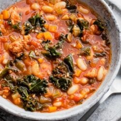 Italian Sausage Kale Soup Dinner Recipe