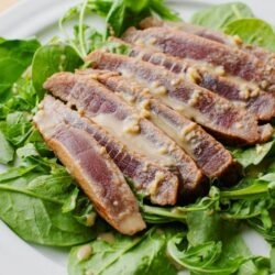 Our Seared Tuna with Wasabi Cream Sauce is a Tasty, High-protein lunch or dinner.