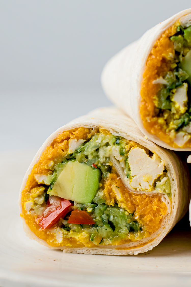 Have a healthy, plant-based morning with these tasty vegan breakfast burritos!