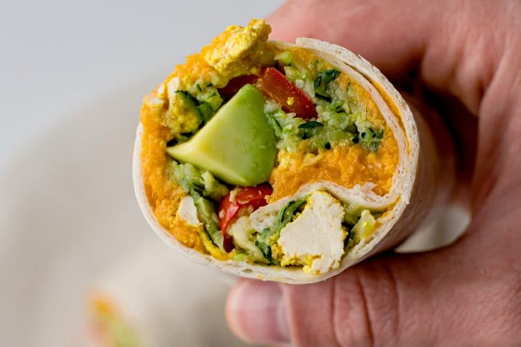 Heat up these premade burritos, and get on your way!