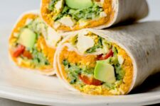 Meal-Prep Friendly Vegan Breakfast Burritos