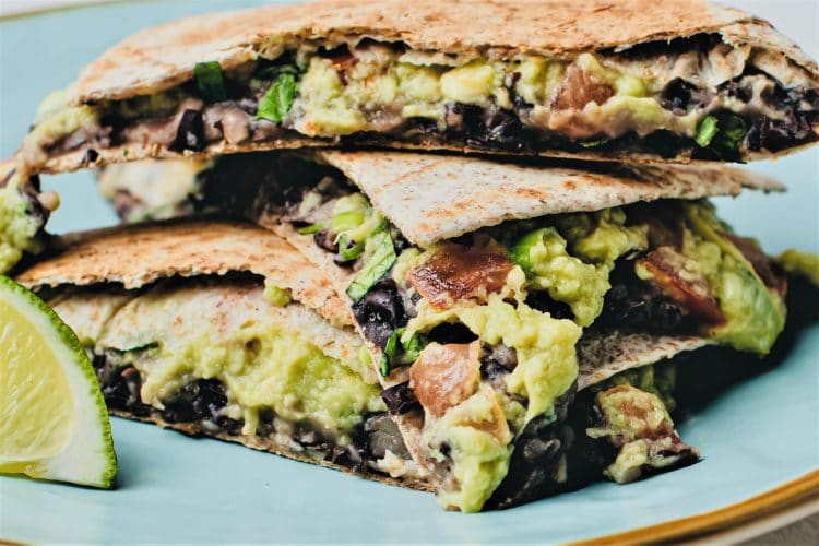 Black Beans and Avocados pair up t create a scrumptious and filling snack or meal!