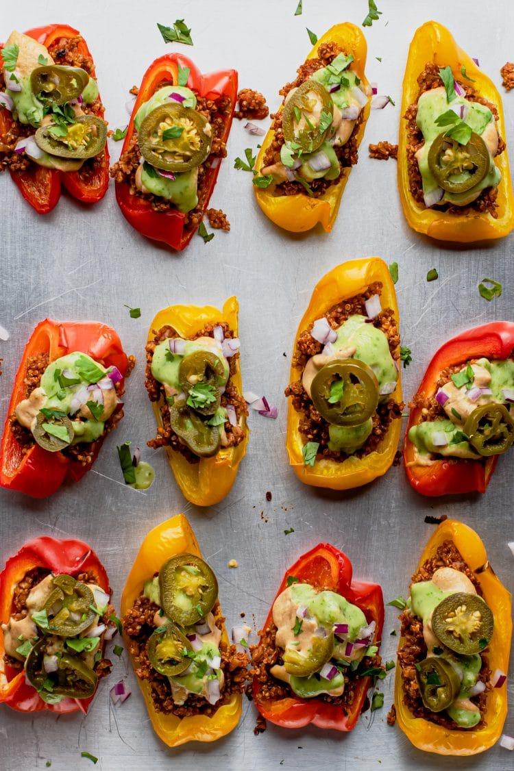 Enjoy nachos in a healthy, plant-based-friendly way!