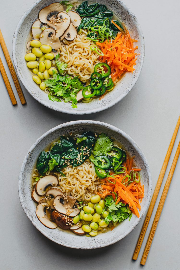 This is unlike any storebought ramen you've ever had! It's loaded with way more nutrients and flavor!