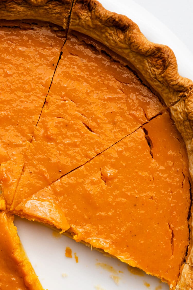 Our dairy-free pumpkin pie is a sweet and healthy, holiday treat!