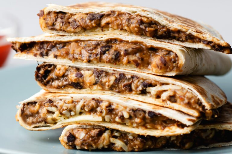 Indulge in these vegetarian-friendly beanadillas the next time you're craving Mexican food!