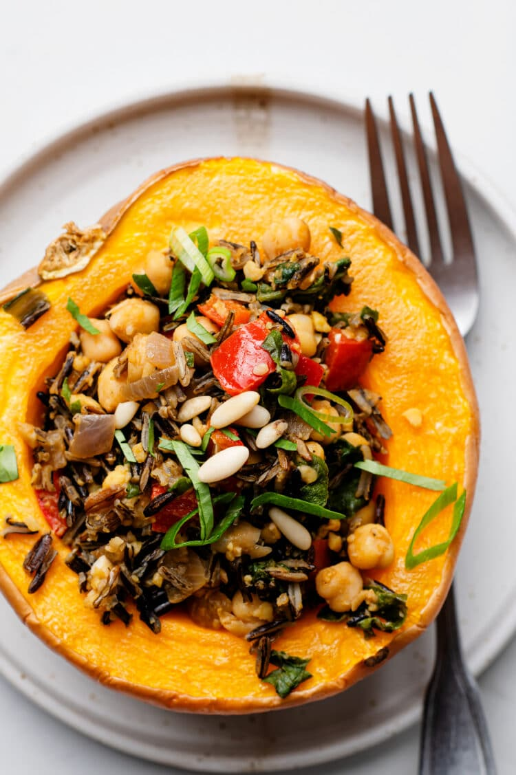 This delicious dish combines all of the best flavors of the season.