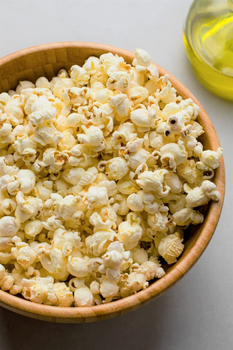 A healthy snack for family movie night!