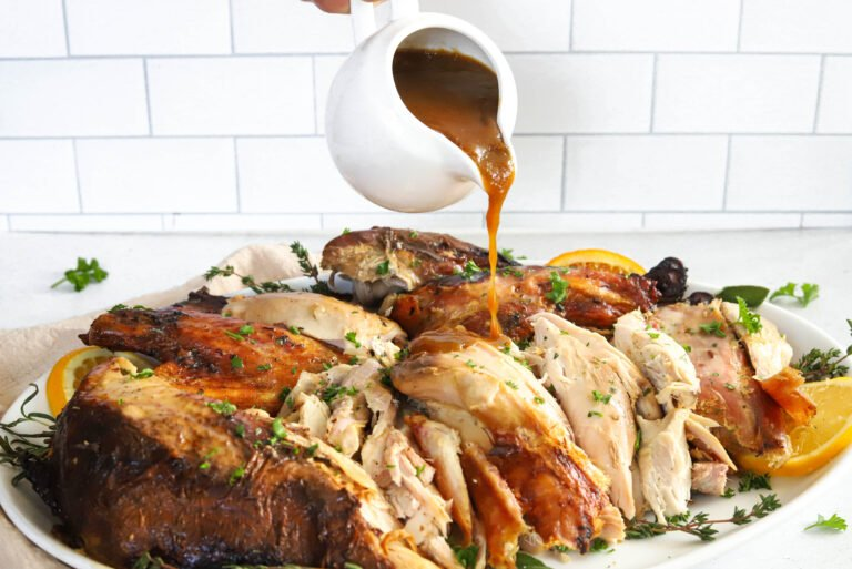 Finish off your turkey with delicious, savory, homemade gravy.