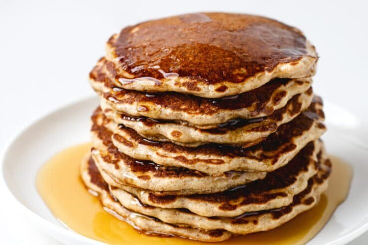Dig in to grandma's classic old fashioned pancakes recipe for breakfast!