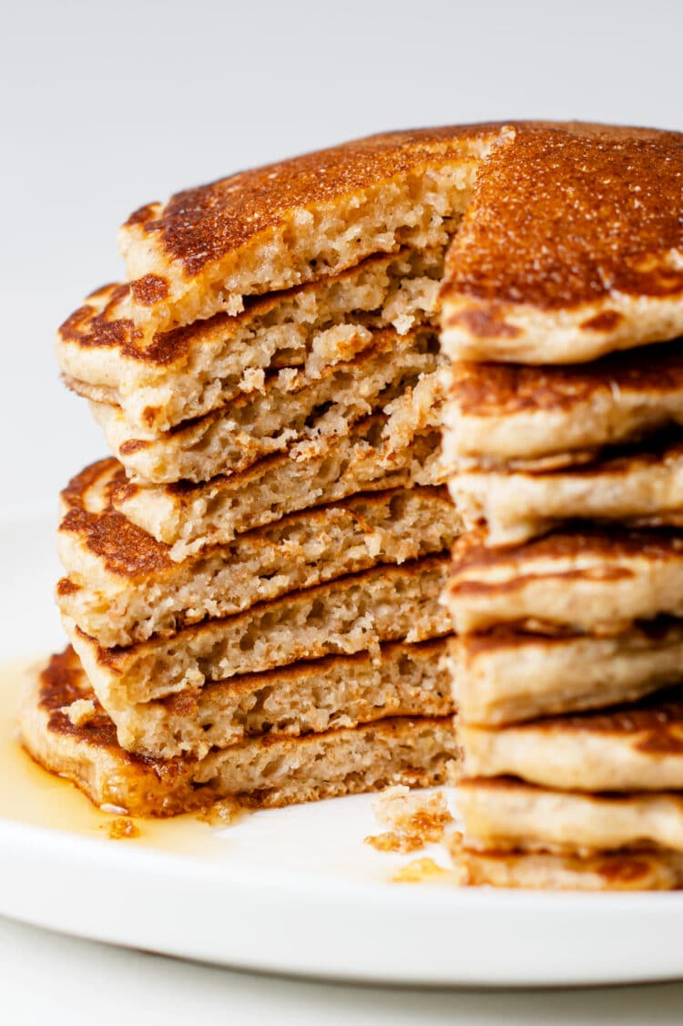 Flavorful and sweet, these pancakes can be ready in minutes!