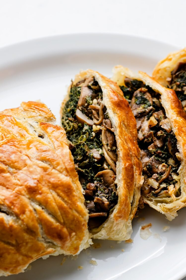 A plant-based take on classic beef wellington that tastes amazing!