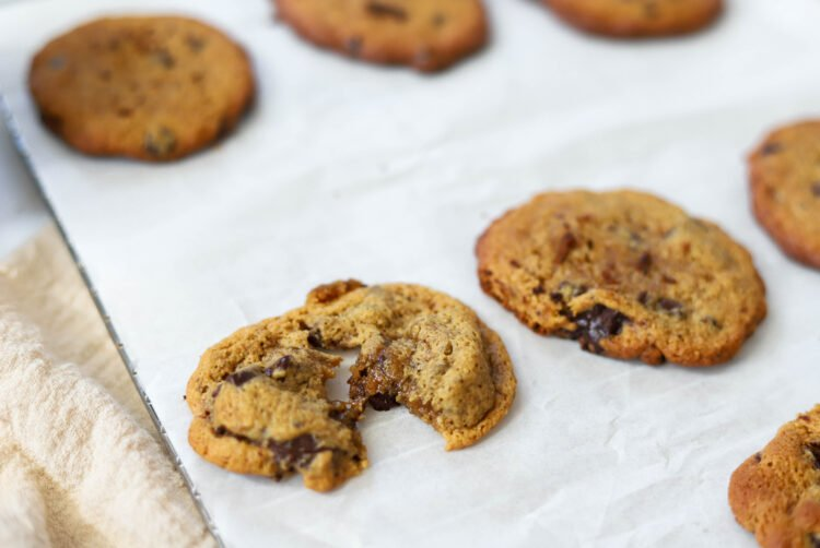 What better way to end the day than with a moist and delicious chocolate chip cookie?!