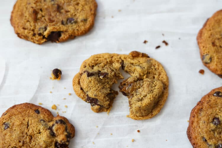 Brown butter adds a tremendous amount of flavor to these scrumptious cookies!